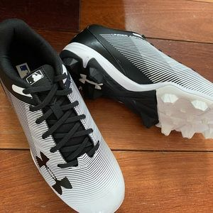Brand new!  Under Armour baseball shoes size 4.5